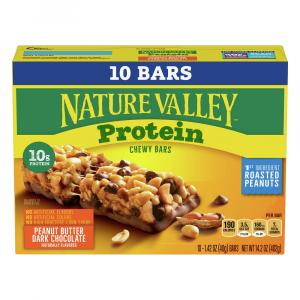 Nature Valley Dark Chocolate Peanut Butter Protein Bars