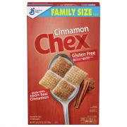 General Mills Cinnamon Chex Cereal Family Size