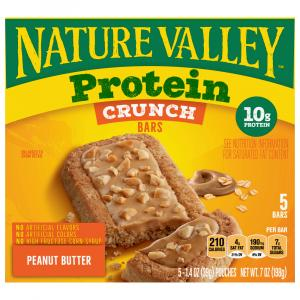 Nature Valley Protein Crunch Bars Peanut Butter