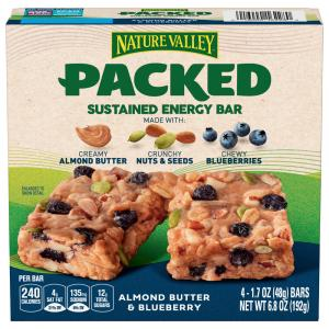 Nature Valley Almond Butter & Blueberry Energy Bars