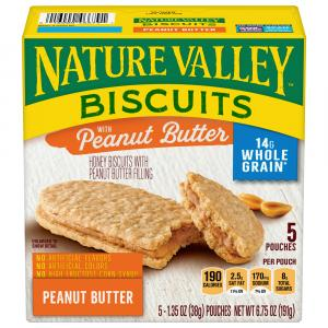 Nature Valley Honey Biscuit with Peanut Butter