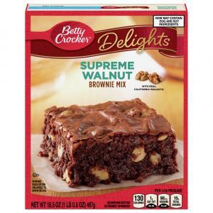 Betty Crocker Walnut Premium Brownie Mix