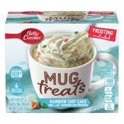 Betty Crocker Mug Treats Rainbow Chip Cake Mix