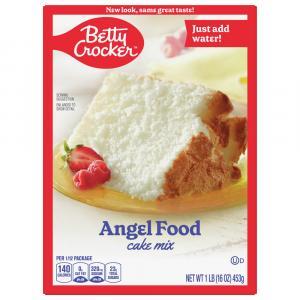 Betty Crocker Angel Food Cake Mix
