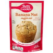 Betty Crocker Banana Nut Pouch Muffin Mix