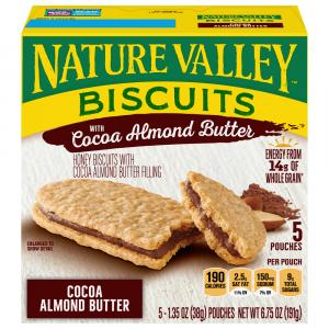Nature Valley Biscuits With Cocoa Almond Butter