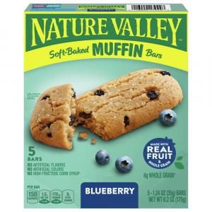 Nature Valley Soft Baked Muffin Bars Blueberry