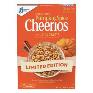General Mills Pumpkin Spice Cheerios Cereal