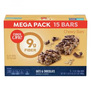 General Mills Fiber One Oats & Chocolate Bars