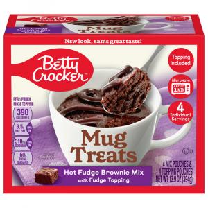 Betty Crocker Mug Treats Hot Fudge Brownie Mix