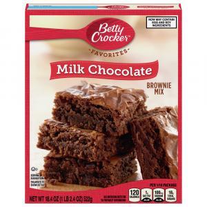 Betty Crocker Milk Chocolate Family Size Brownie Mix