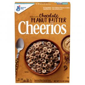 General Mills Cheerios Chocolate & Peanut Butter Cereal