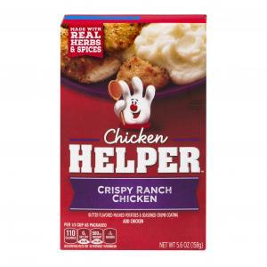 Betty Crocker Chicken Helper Crispy Ranch Chicken