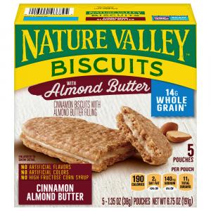 Nature Valley Cinnamon Biscuit with Almond Butter