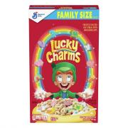 General Mills Lucky Charms Cereal Family Size