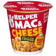 Helper Bold Cheesy Pizza Mac & Cheese