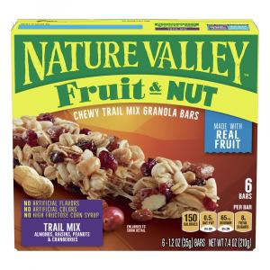 Nature Valley Chewy Trail Mix Granola Bars