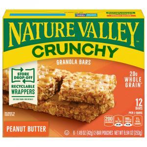 Nature Valley Crunchy Peanut Butter Granola Bars