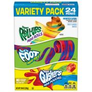 General Mills Party Pack Fruit Fusion Assorted Flavors
