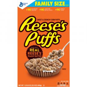 General Mills Reese's Peanut Butter Puffs Cereal
