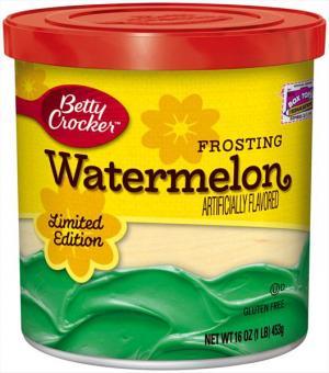 Betty Crocker Watermelon Frosting