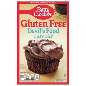 Betty Crocker Gluten Free Devil's Food Cake Mix