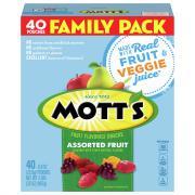 Mott's Assorted Fruit Snacks Family Size