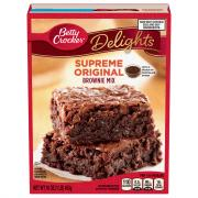 Betty Crocker Supreme Original Brownie Mix