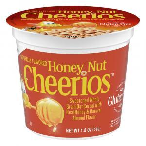 General Mills Honey Nut Cheerios Cereal Cup