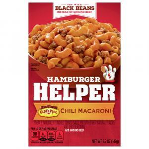 Betty Crocker Hamburger Helper Mexican Chili Macaroni