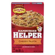 Betty Crocker Hamburger Helper Cheesy Fajita