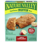 Nature Valley Soft Baked Muffin Bars Apple Cinnamon