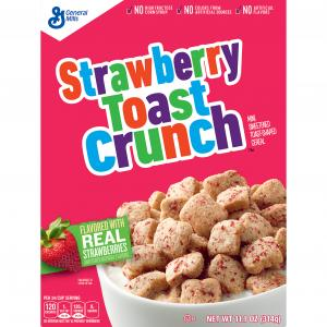 General Mills Tiny Toast Strawberry Cereal