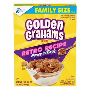 General Mills Golden Grahams Cereal Family Size