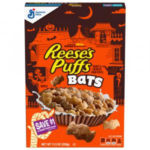 General Mills Reeces Puff Bats Limited Cereal