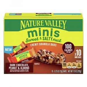 Nature Valley Minis Dark Chocolate, Peanut & Almond
