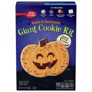 Betty Crocker Giant Pumpkin Bake & Decorate Cookie Kit