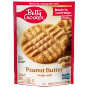 Betty Crocker Peanut Butter Pouch Cookie Mix