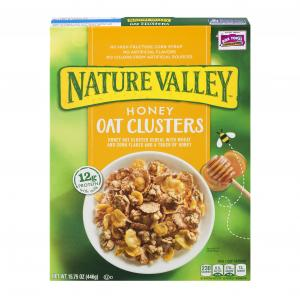Nature Valley Honey Oats Clusters Granola Cereal