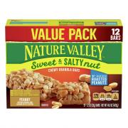 Nature Valley Sweet & Salty Granola Bars Value Pack Peanut