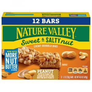 Nature Valley Sweet & Salty Granola Bars Value Pack Peanut