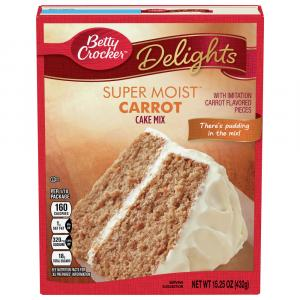 Betty Crocker Supermoist Carrot Cake Mix