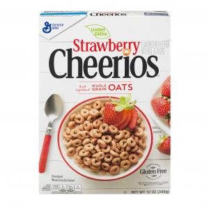 General Mills Cheerios Strawberry Cereal
