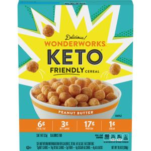 Wonderworks Keto Friendly Peanut Butter Cereal