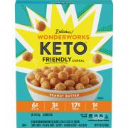 Wonderworks Keto Friendly Peanut Butter Cereal