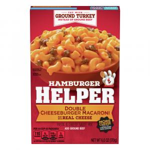 Betty Crocker Hamburger Helper Double Cheeseburger Macaroni