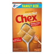 General Mills Honey Nut Chex Cereal Family Size