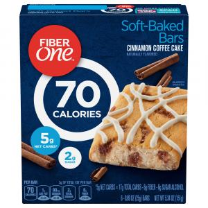 Fiber One Coffee Cake Bars