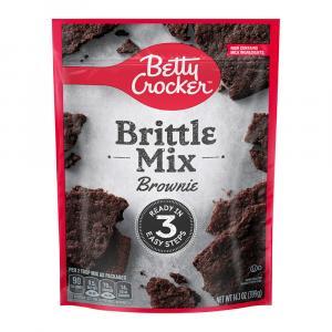 Betty Crocker Brittle Mix Brownie