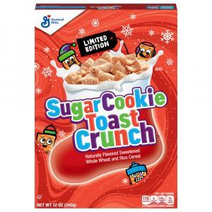 General Mills Cinnamon Toast Crunch Sugar Cookie Cereal